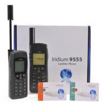 Téléphone satellite Iridium 9575 Extreme avec un libre carte SIM prépayée